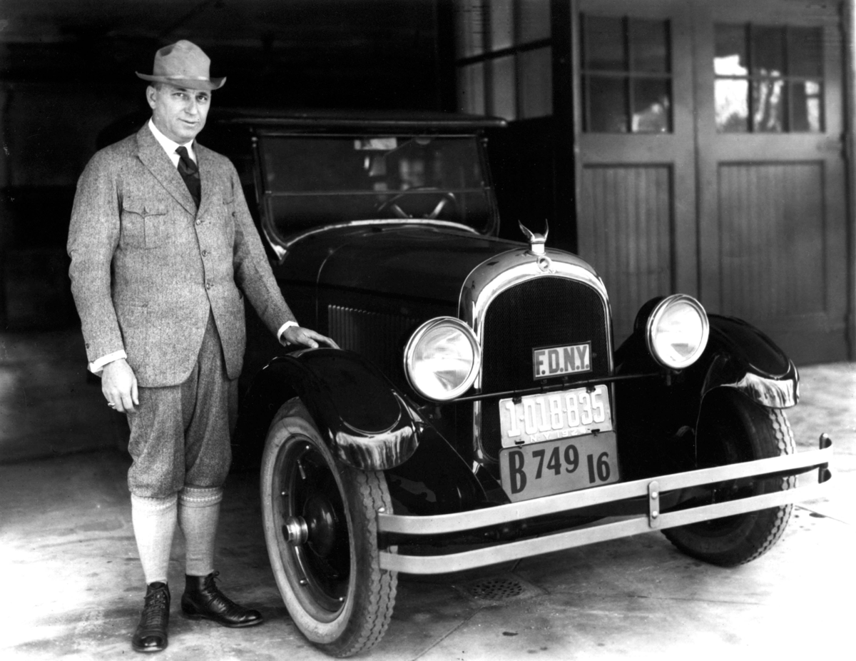 1924 Chrysler Six with Walter Chrysler