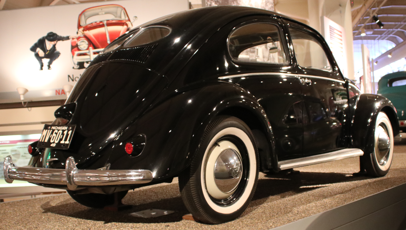 1949 Volkswagen Beetle at Ford Museum 2018