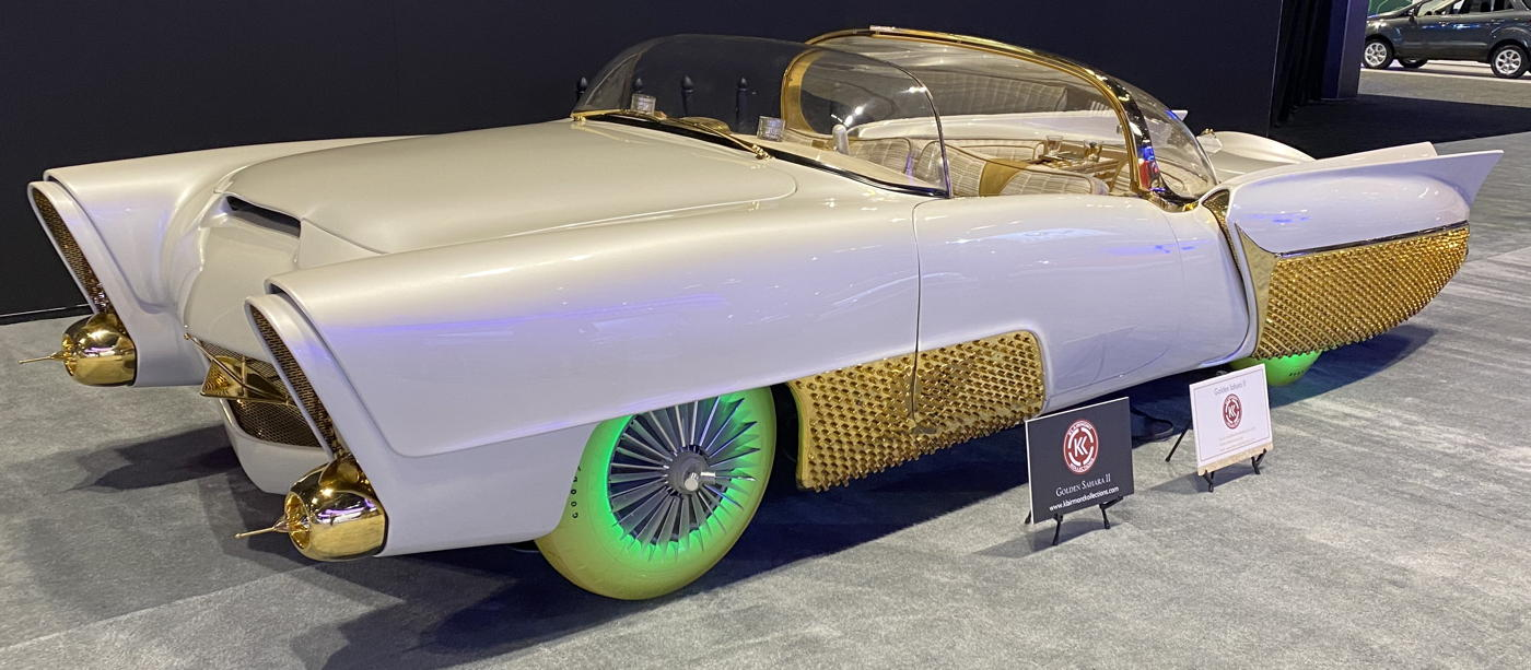 1953 Golden Sahara II KK at 2020 Chicago Auto Show