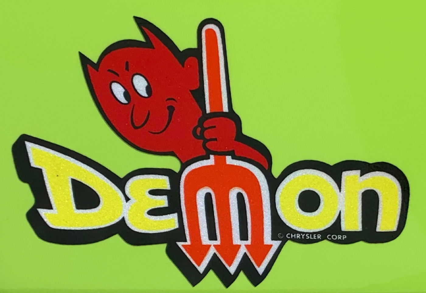 1971 Dodge Demon Emblem
