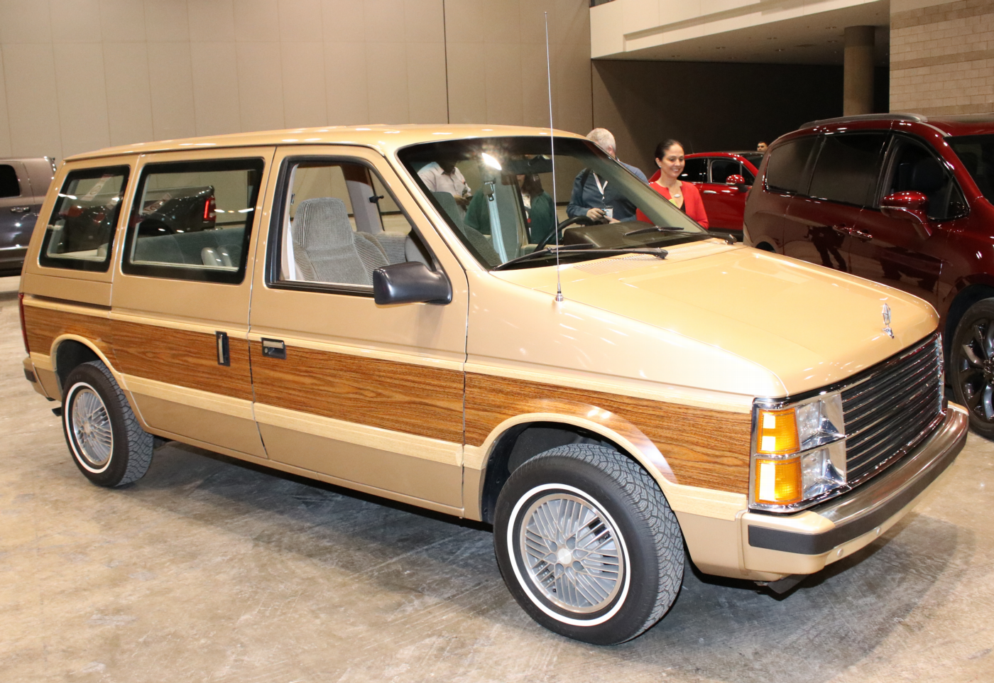 1984 Dodge Caravan at 2019 CAS Tech Garage