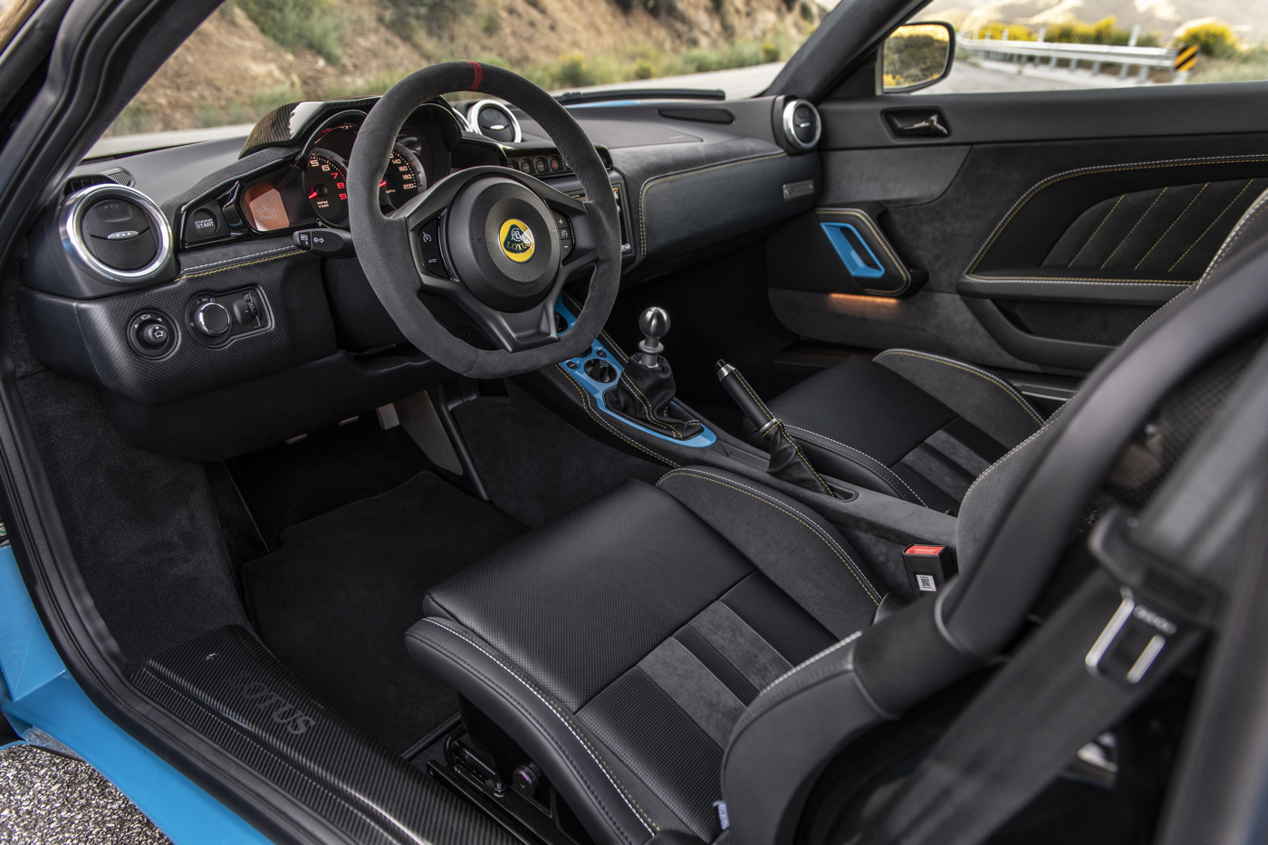 2020 Lotus Ever GT Interior