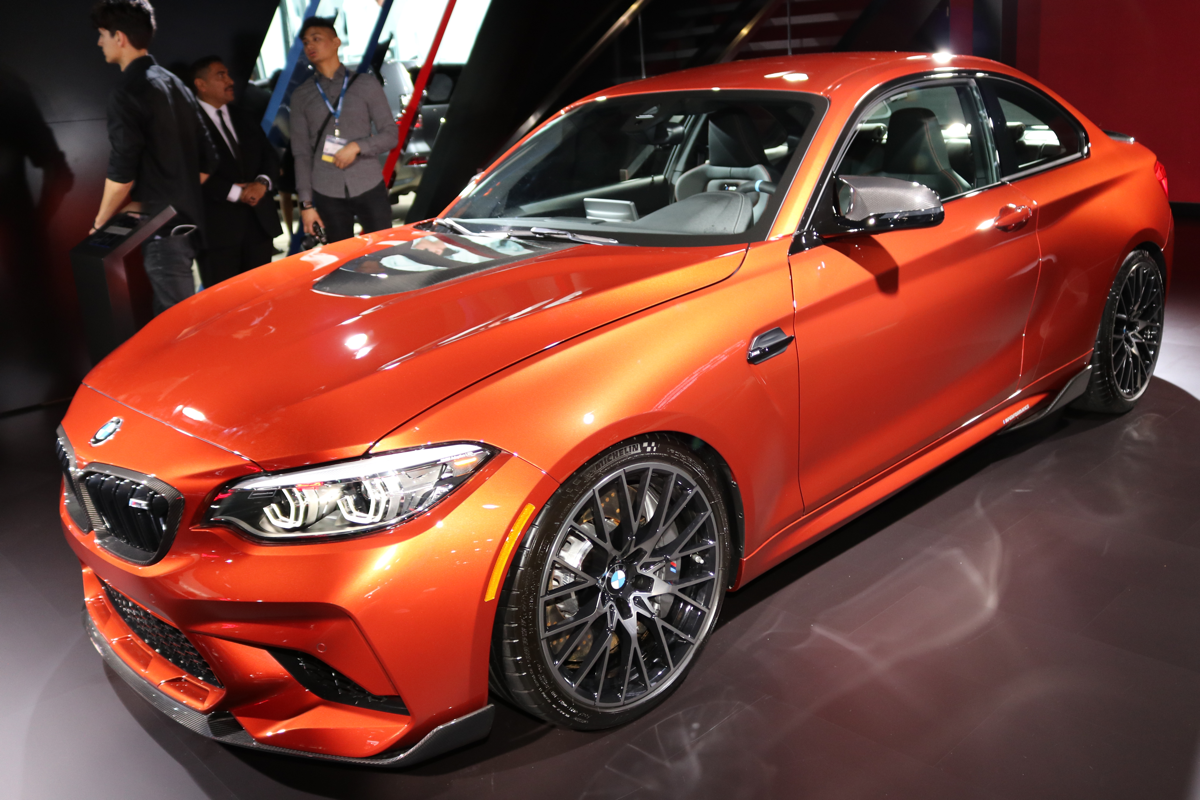 2019 BMW M2 Competition with MPower carbon fiber accessories