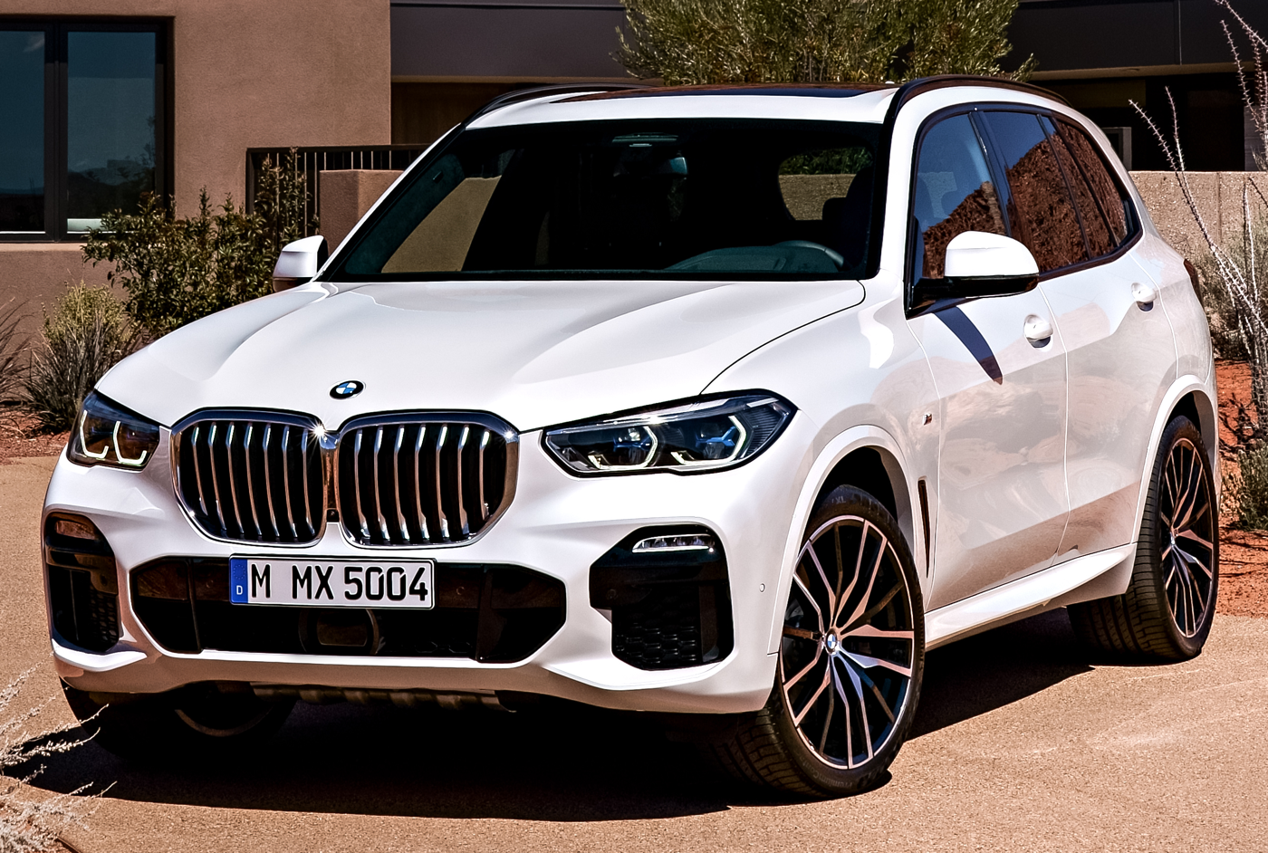 2019 all-new BMW X5 courtesy BMW AG