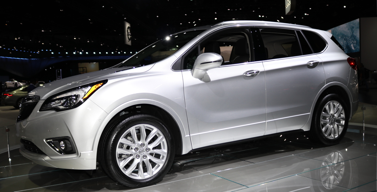 Refreshed 2019 Buick Envision at LA Auto Show