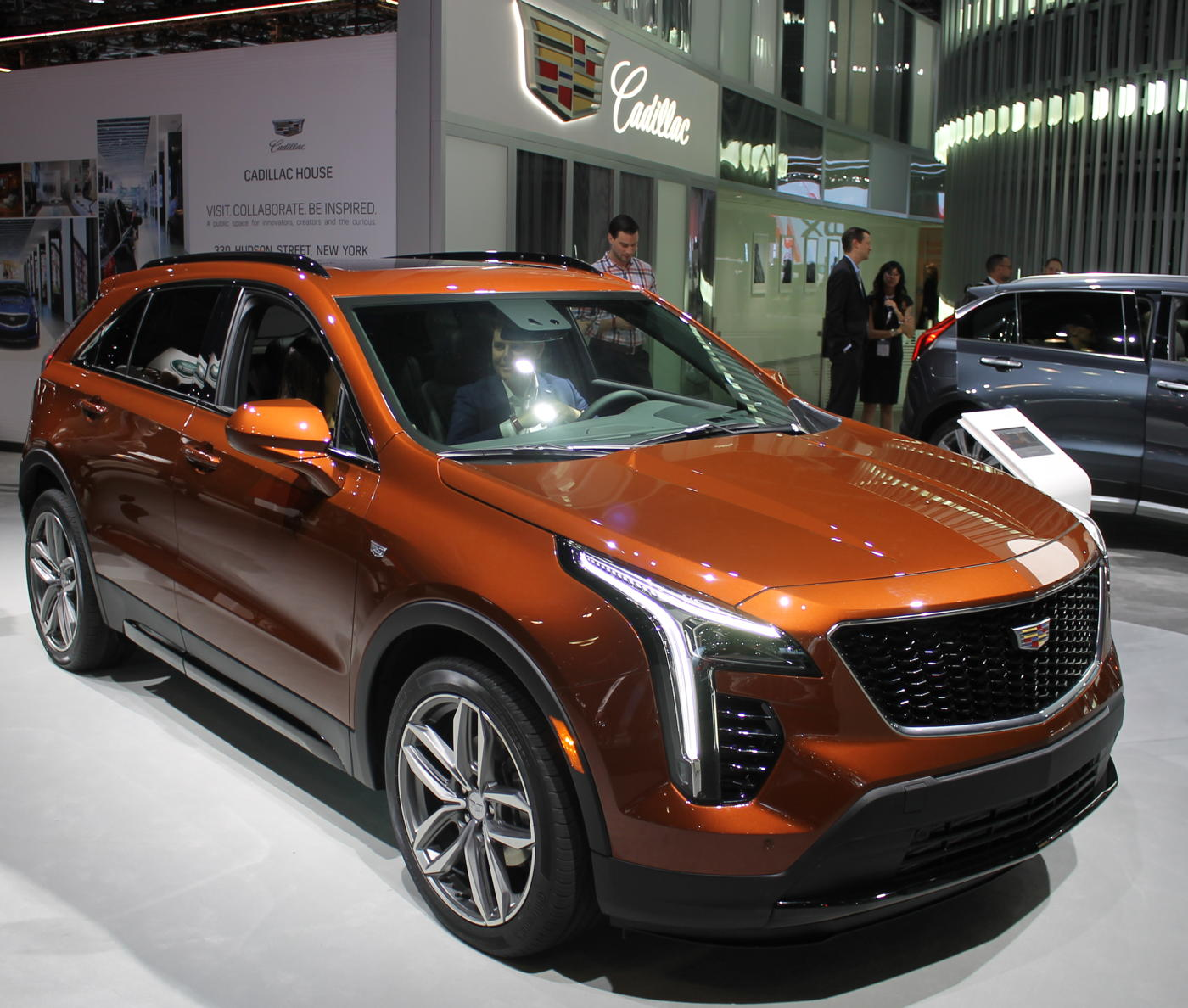 2019 Cadillac XT4 at 2018 NYAS