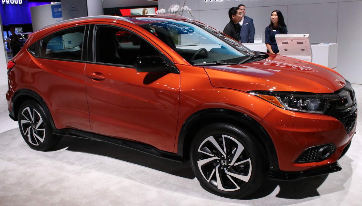 2019 Honda HR-V at LA Auto Show