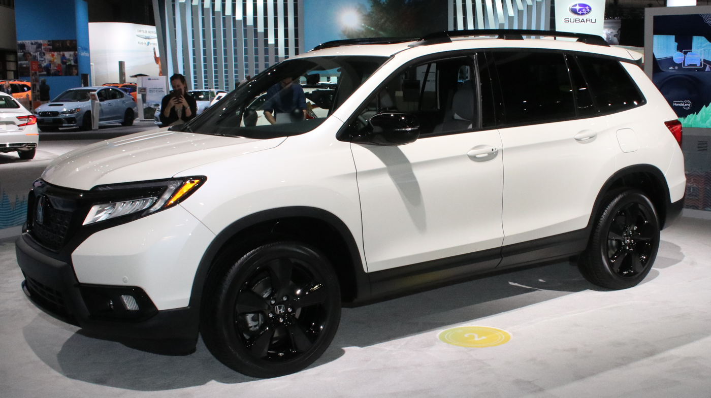 2019 Honda Passport at LA Auto Show