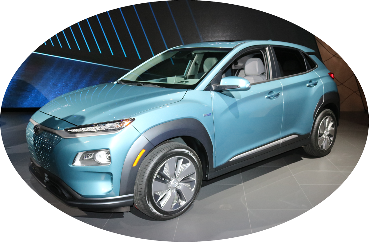 2019 Hyundai Kona Electric at NY Auto Show