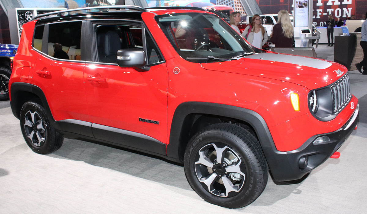 2019 Jeep Renegade Trailhawk at LA Auto Show