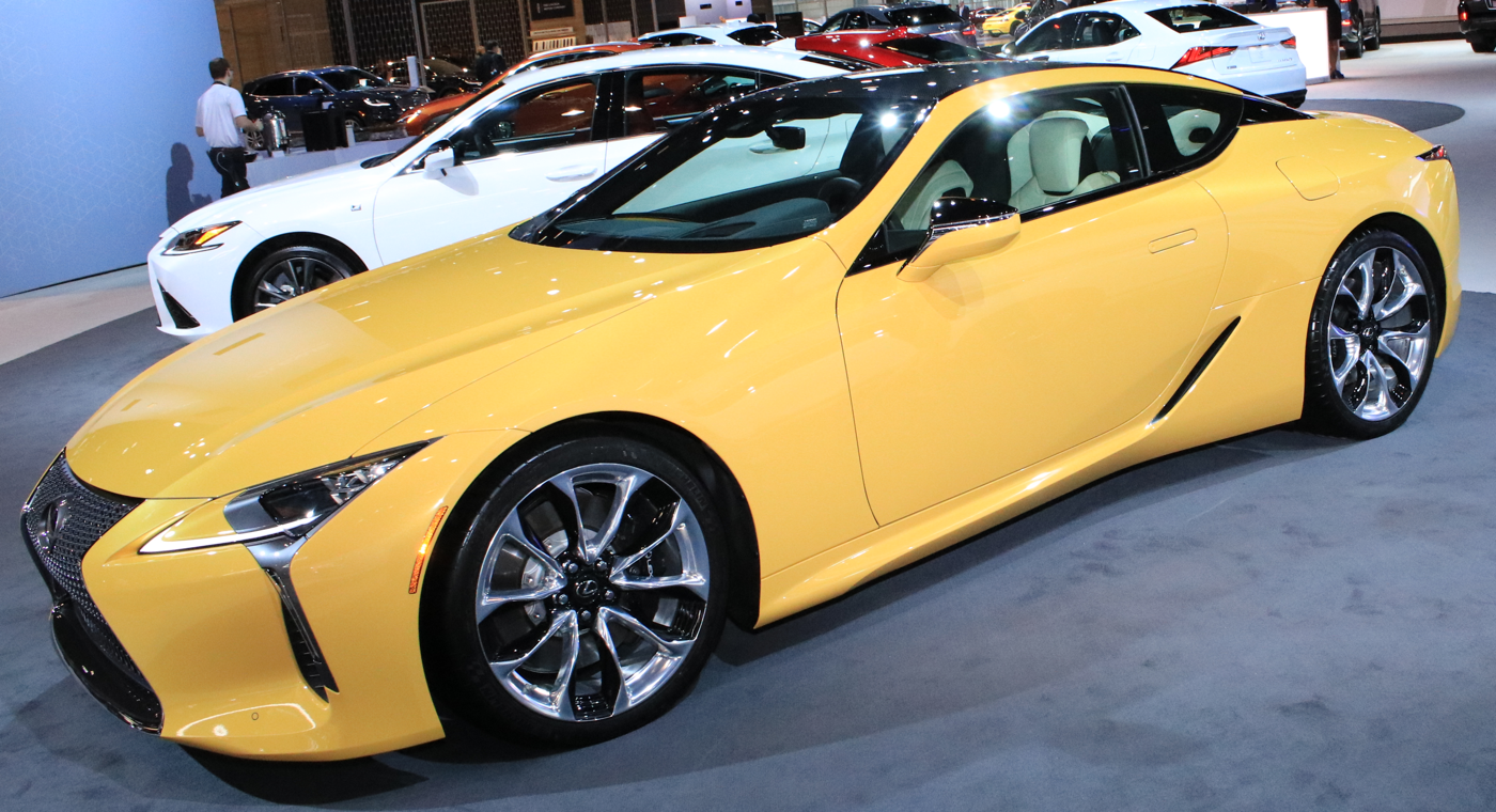 2019 Lexus LC 500 Inspiration Series at 2019 CAS