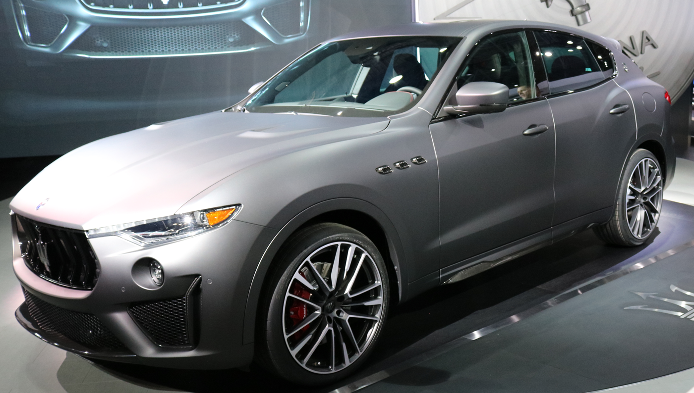 2019 Maserati Levante Trofeo at 2018 NYAS