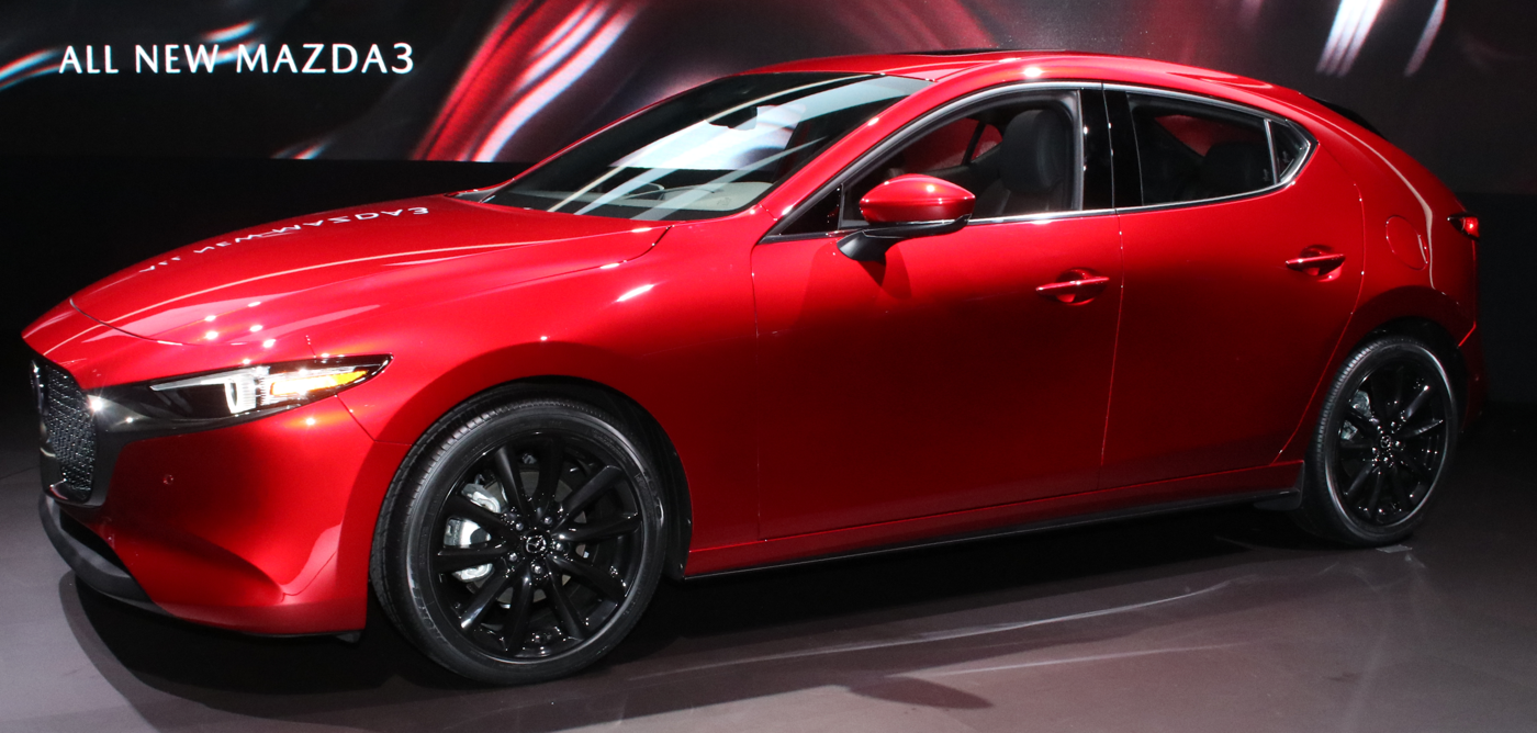2019 Mazda3 Hatchback at 2018 LA Auto Show