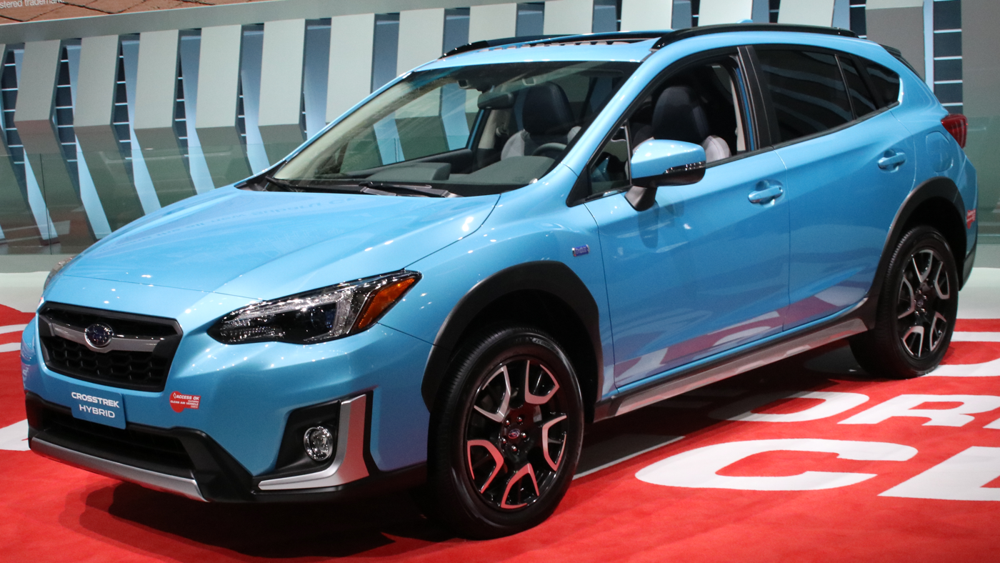 2019 Subaru Crosstrek Plug-In Hybrid at LA Auto Show