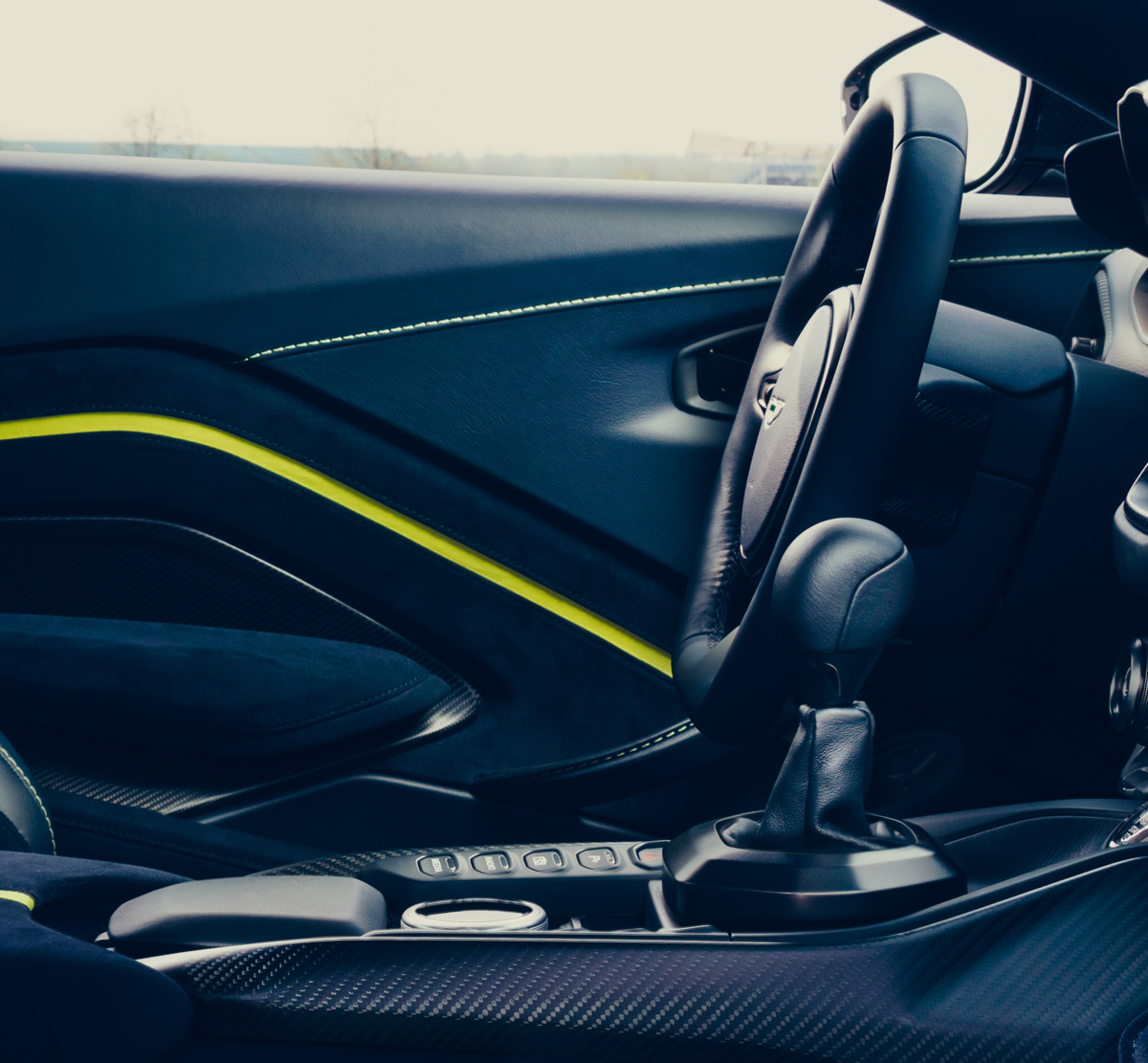 2020 Aston Martin Vantage AMR Stick Shift
