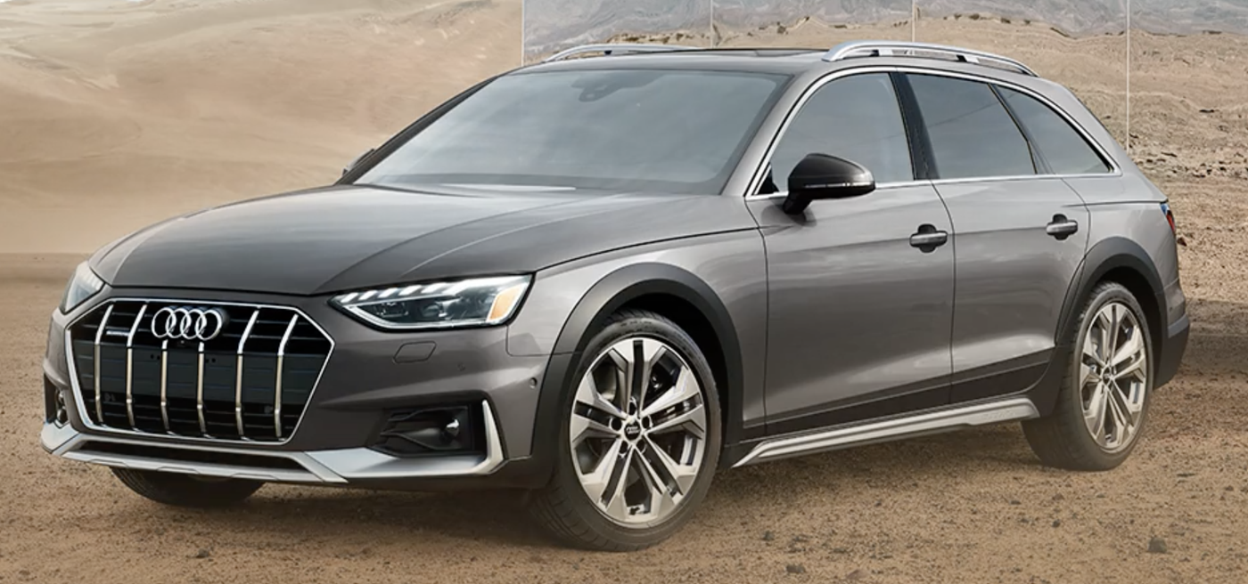2020 Audi A4 Allroad from Audi retail website