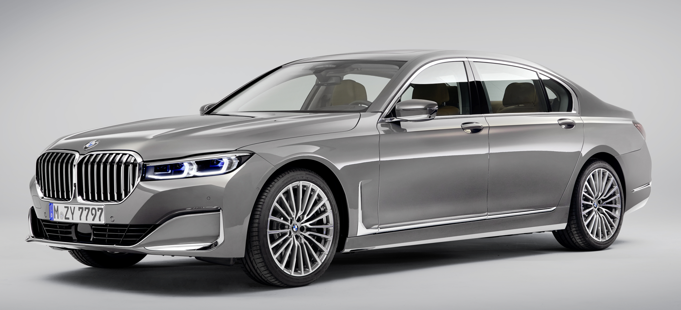 2020 BMW 7 Series European model courtesy BMW News