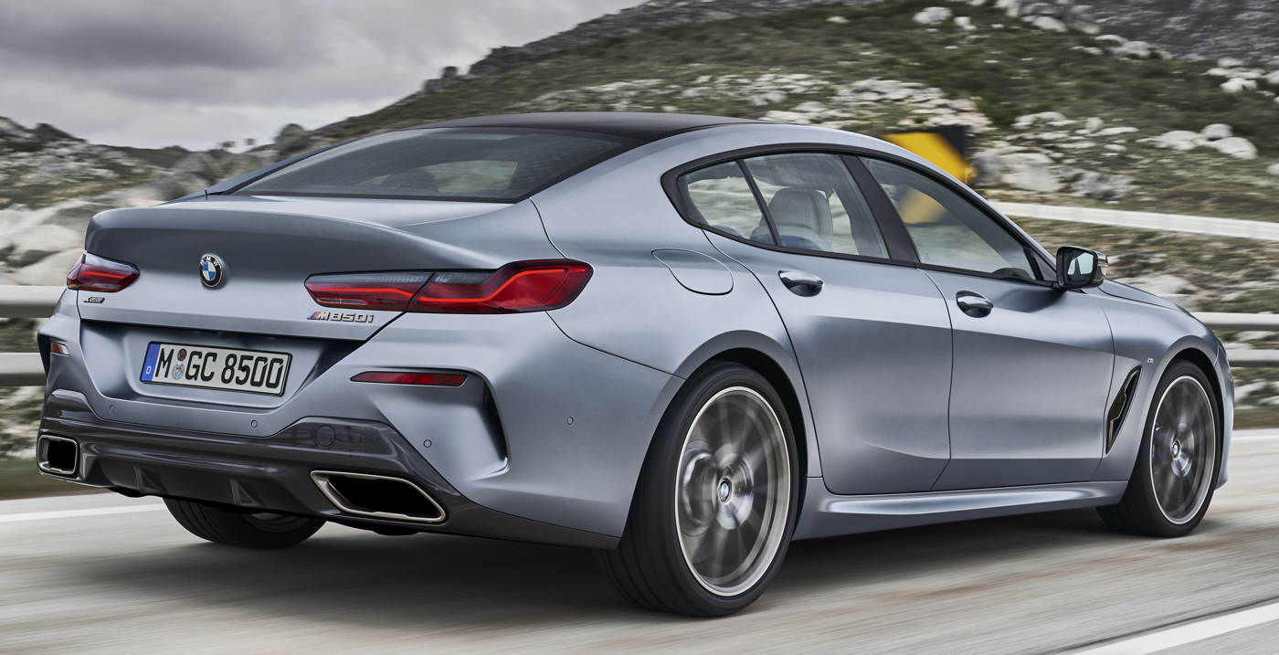 2020 BMW 840i Gran Coupe via BMW News