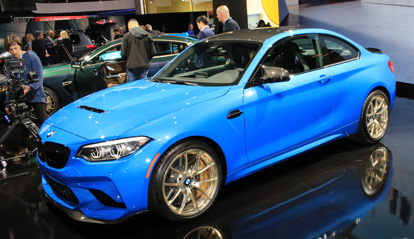 2020 BMW M2 CS at 2019 LA Auto Show
