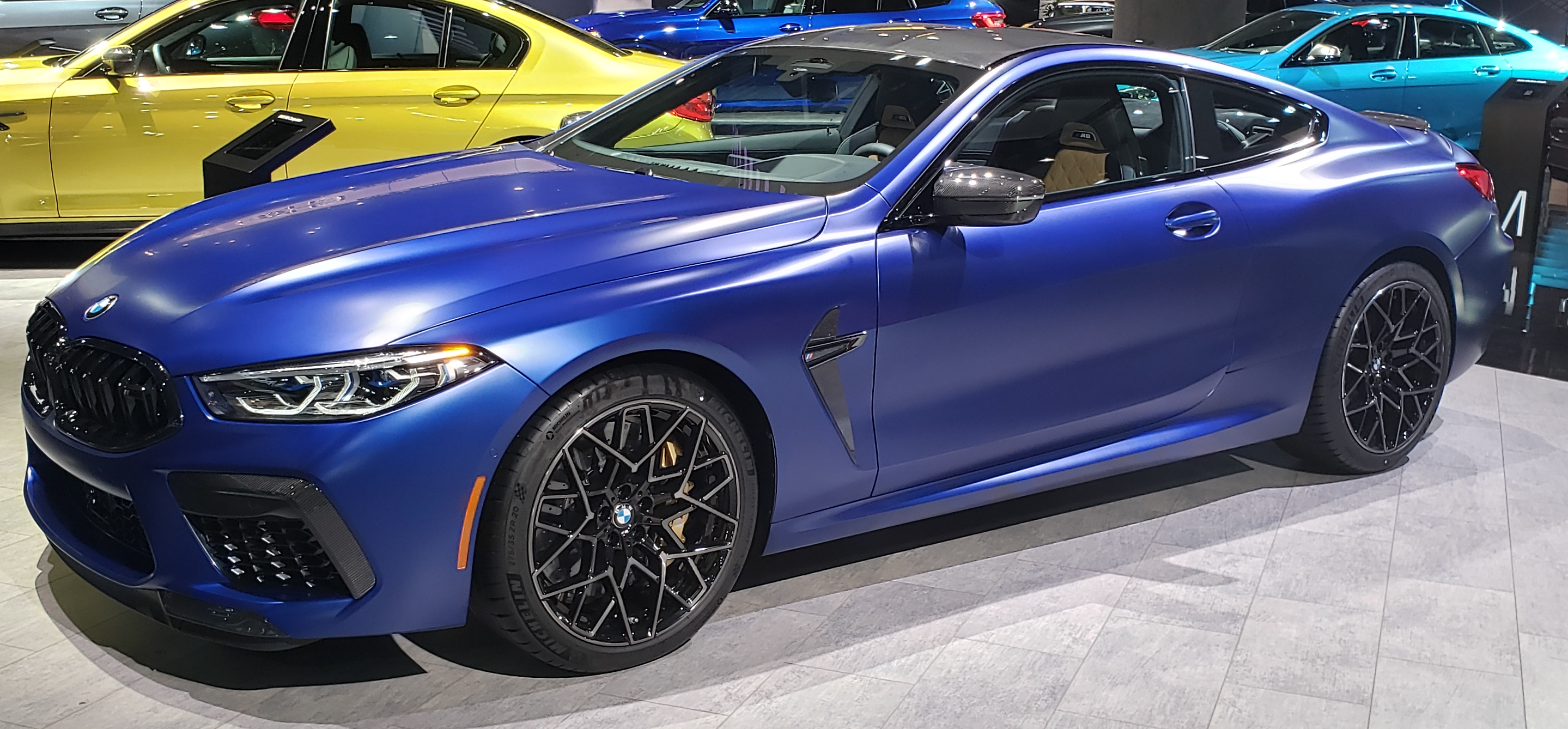 2020 BMW M8 Competition Convertible European model