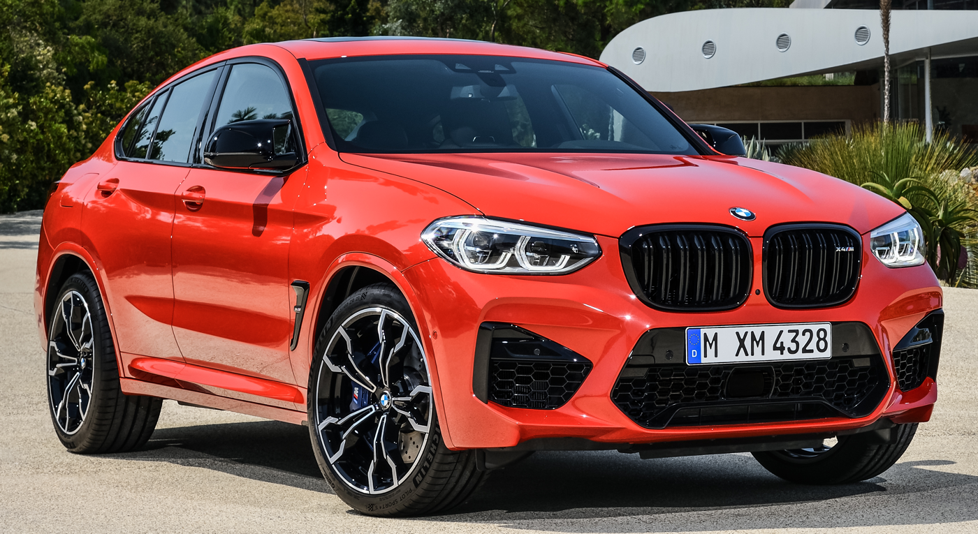 2020 BMW X4 M courtesy BMW News
