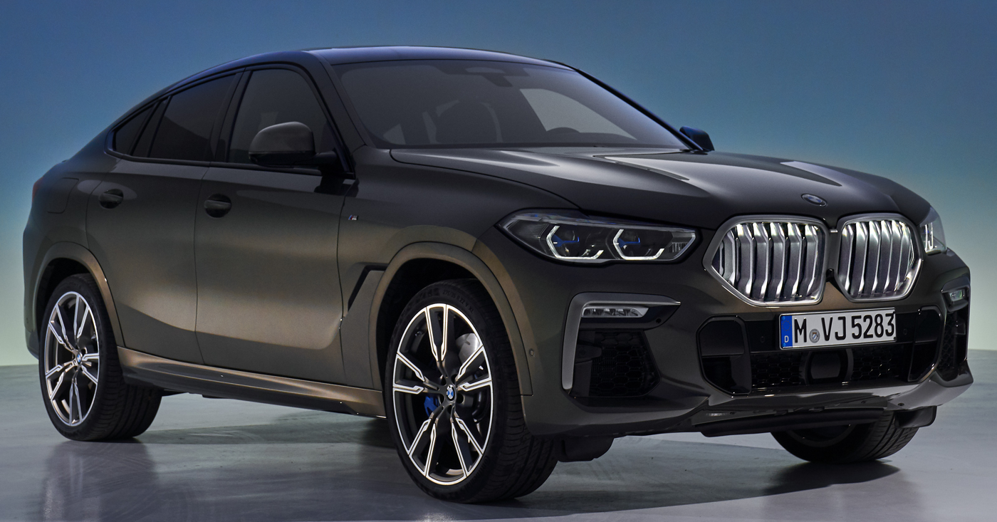 2020 BMW X6 Courtesy BMWNews