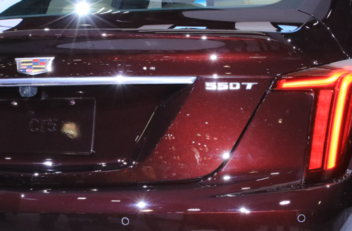 2020 Cadillac CT5 badges