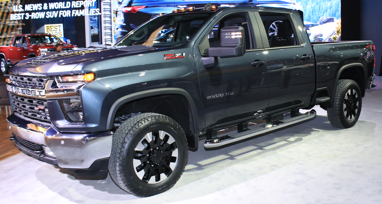 2020 Chevrolet Silverado 2500HD Z71 at CAS 2019