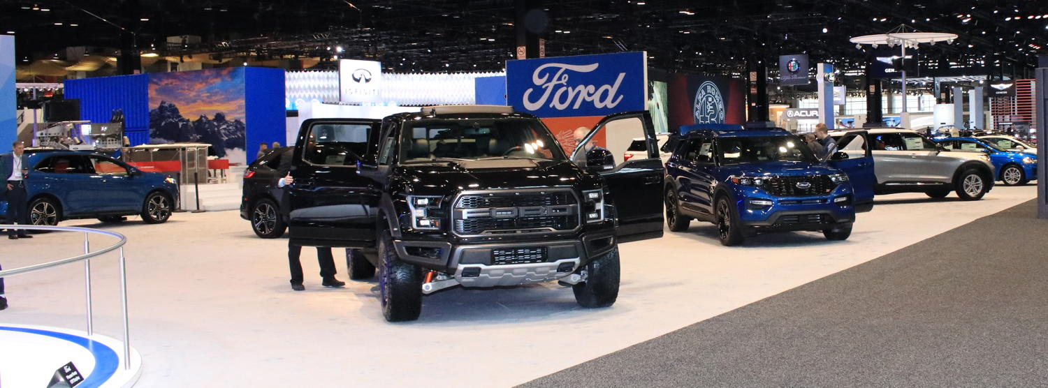 2020 Chicago Auto Show Ford Stand