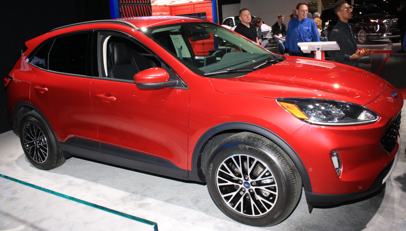 2020 Ford Escape at 2019 NYIAS