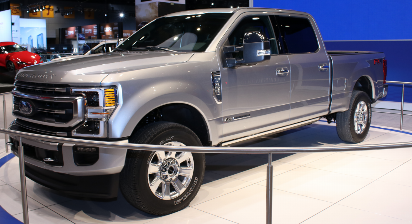2020 Ford F-350 SuperCrew Platinum