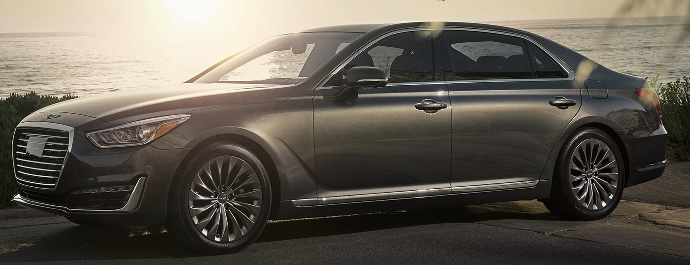 2020 Genesis G90 restyle from retail website