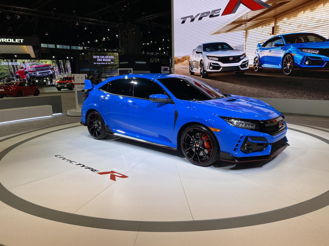 2020 Honda Civic Type R at 2020 Chicago auto show