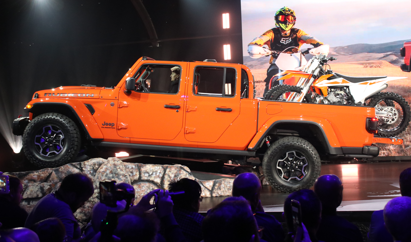 2020 Jeep Gladiator Rubicon at 2018 LA Auto Show