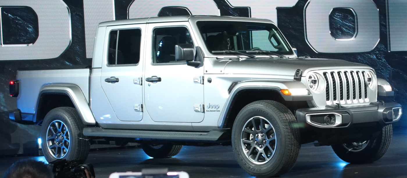 2020 Jeep Gladiator at LA Auto Show Unveiling
