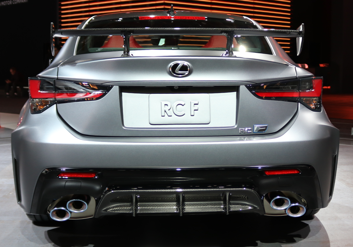 2020 Lexus RC F Track Edition Rear