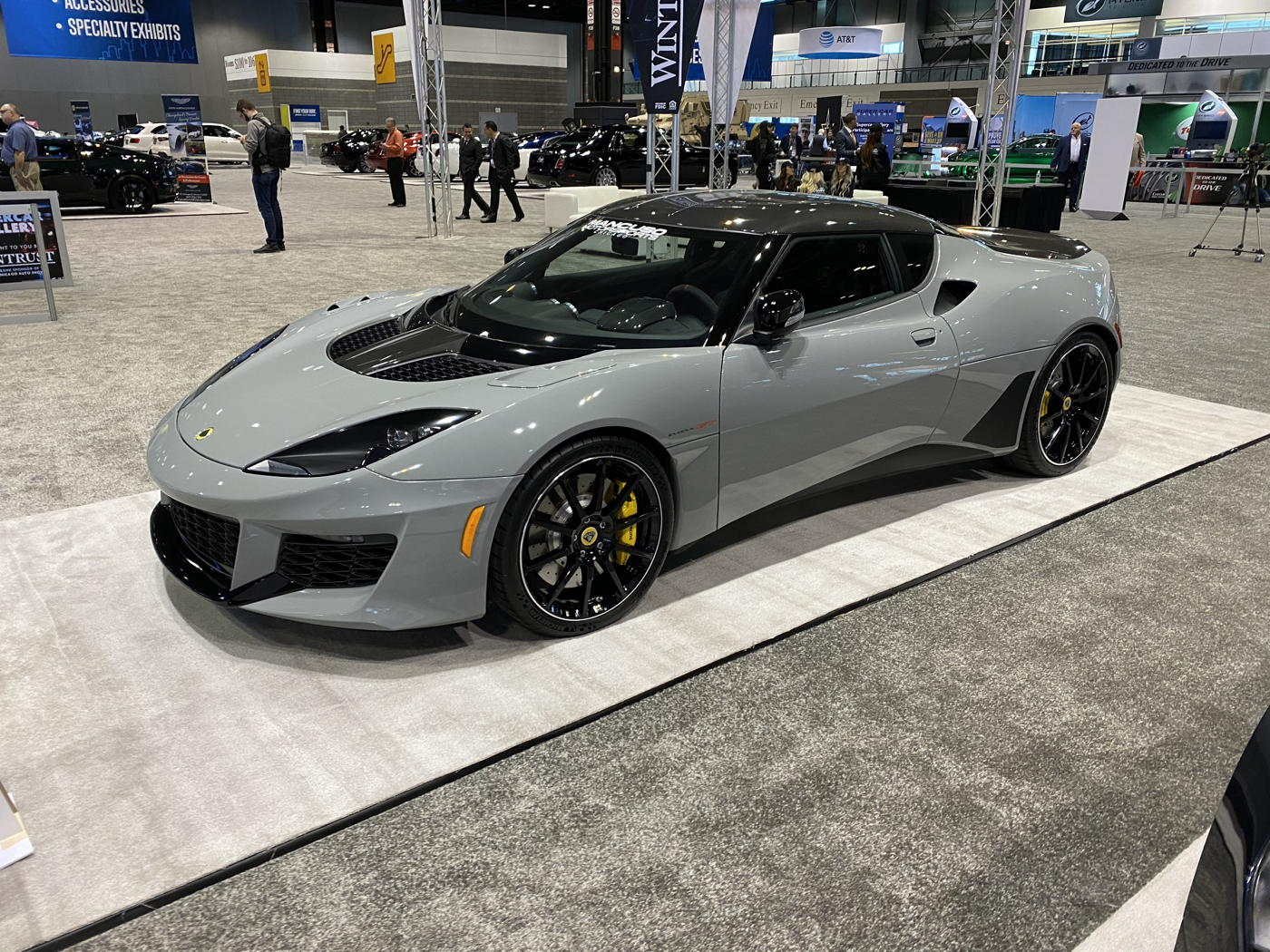 2020 Lotus Evora GT at 2020 Chicago auto show