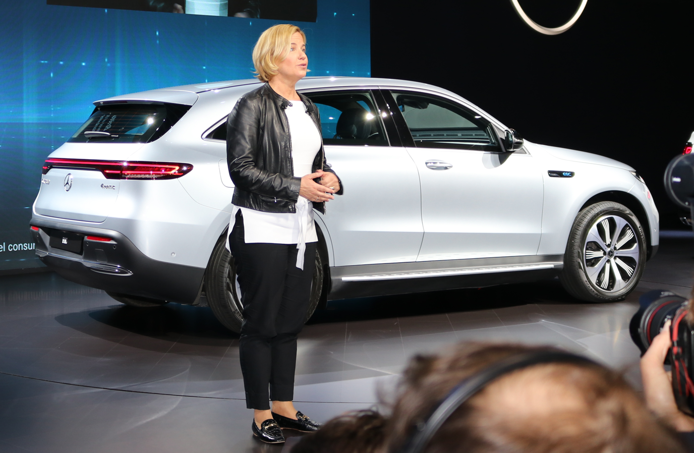 2020 Mercedes EQC at 2019 NYIAS