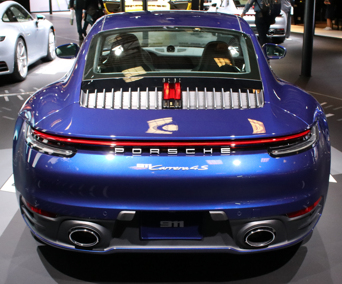 2020 Porsche 911 Carerra 4S Rear