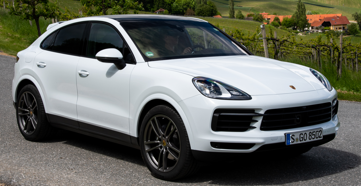 2020 Porsche Cayenne Coupe courtesy Porsche