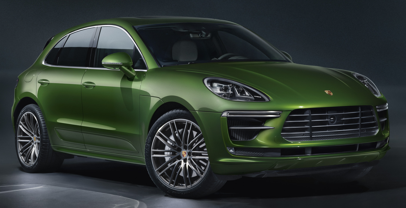 2020 Porsche Macan Turbo courtesy porsche press