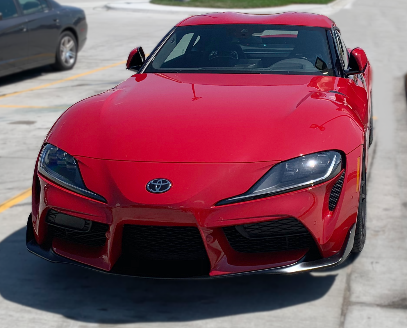 2020 Toyota GR Supra Launch Edition head on KC Test Drive