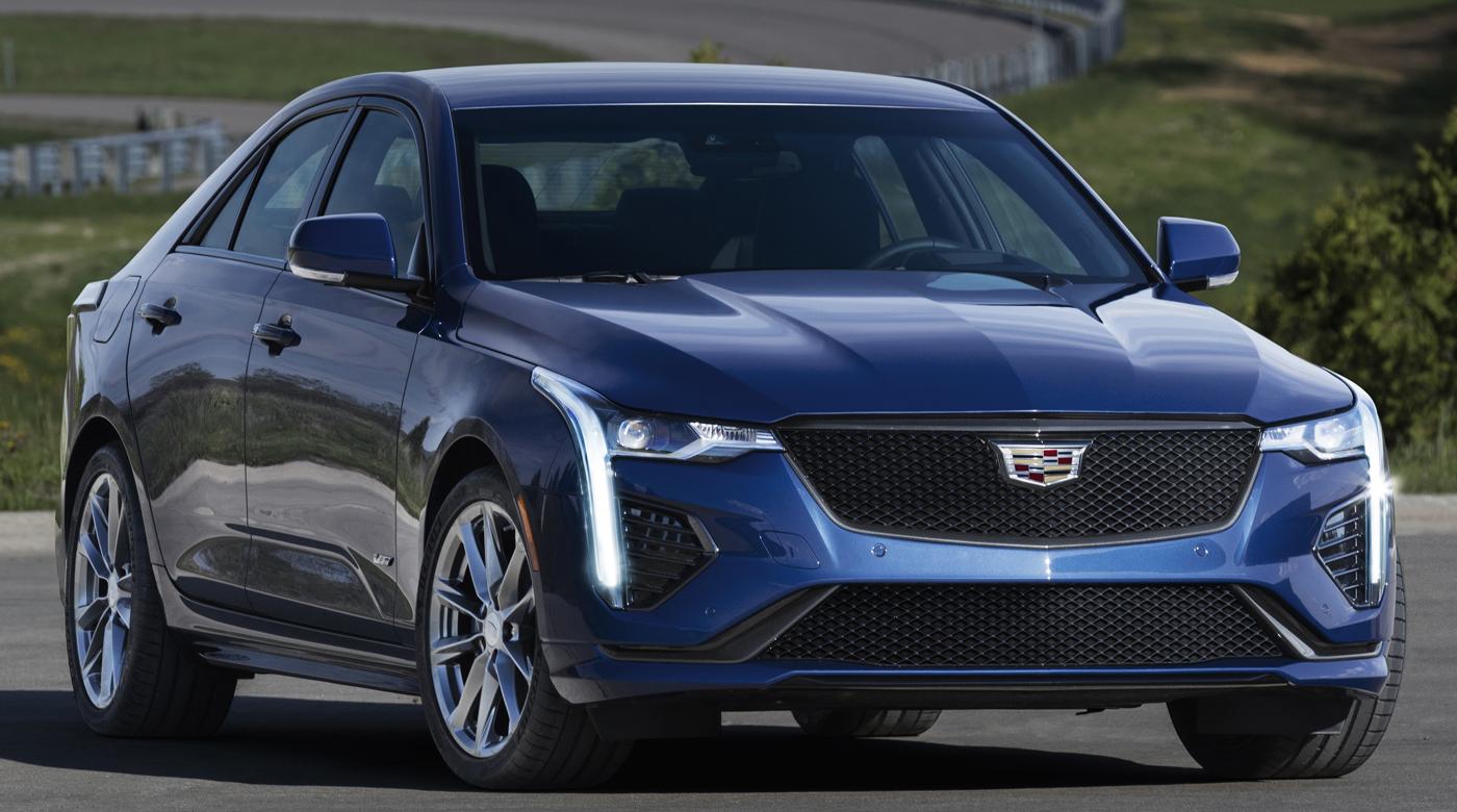 2020 Cadillac CT4-V Courtesy GM Media