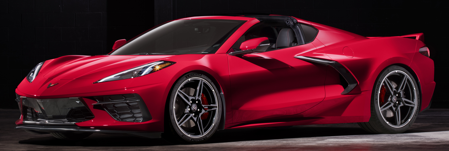 Red 2020 Chevrolet Corvette Stingray