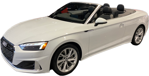 2021 Audi A5 Cabriolet stock photo