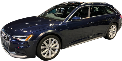 2021 Audi A6 Allroad stock photo