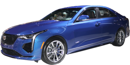 2021 Cadillac CT4-V stock photo