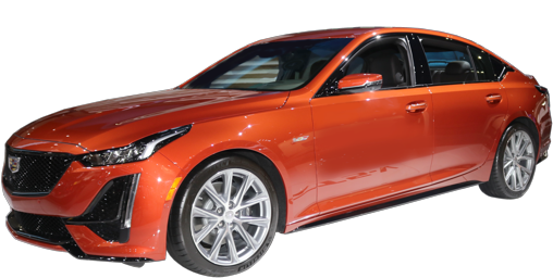 2021 Cadillac CT5-V stock photo