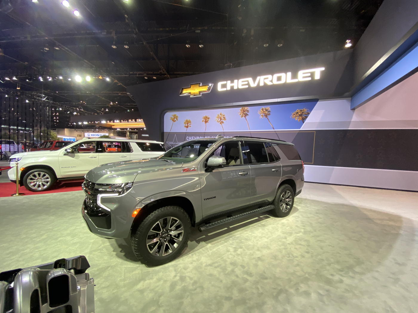 2021 Chevrolet Tahoe at 2020 Chicago auto show
