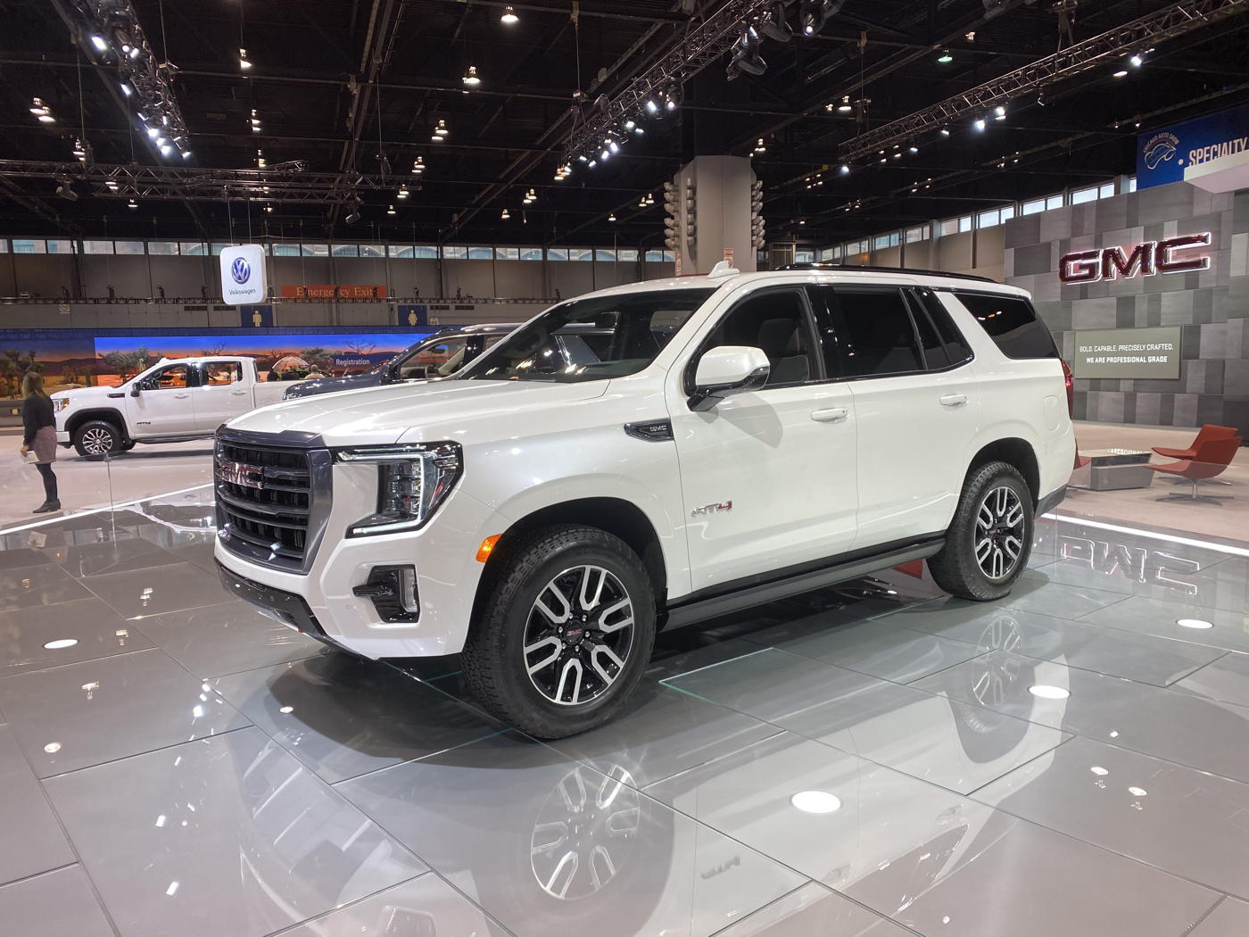 2021 GMC Yukon AT4 at 2020 Chicago auto show